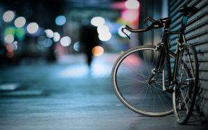 En tävlingscykel